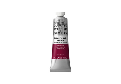 Winsor & Newton W&N Griffin Alkyd olieverf 37ml Purple Lake