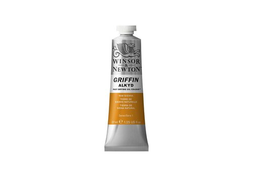 Winsor & Newton W&N Griffin Alkyd olieverf 37ml Raw Sienna