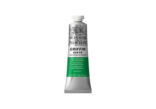 Winsor & Newton W&N Griffin Alkyd olieverf 37ml Phthalo Green Yellow