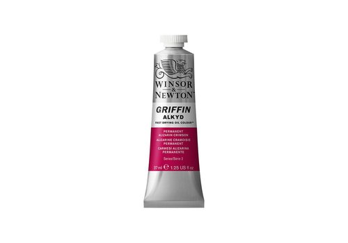 Winsor & Newton W&N Griffin Alkyd olieverf 37ml Permanent Alizarin Crimson