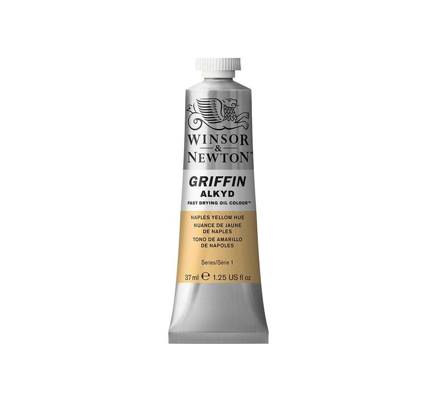 W&N Griffin Alkyd olieverf 37ml Naples Yellow Hue 422