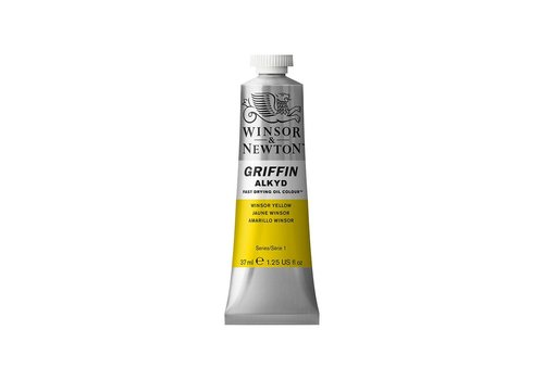 Winsor & Newton W&N Griffin Alkyd olieverf 37ml Winsor Yellow