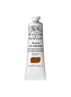 Winsor & Newton W&N Artists olieverf 37ml Transparent Brown Oxide