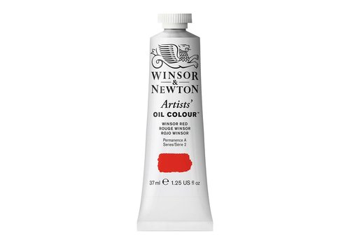 Winsor & Newton W&N Artists olieverf 37ml Winsor Red