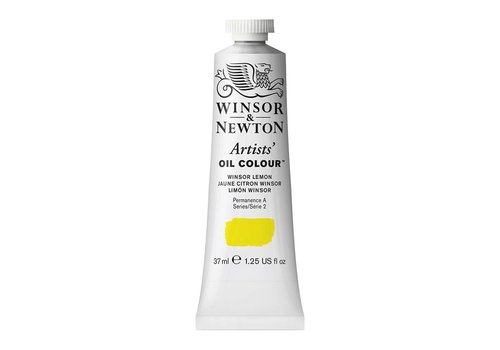 Winsor & Newton W&N Artists olieverf 37ml Winsor Lemon