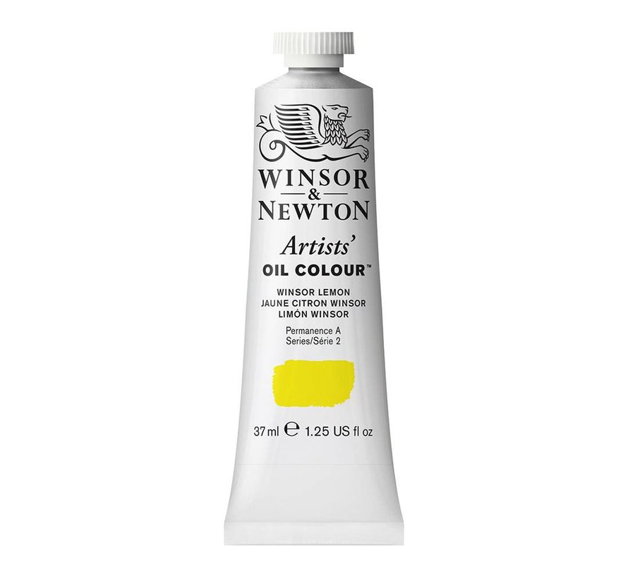 W&N Artists olieverf 37ml Winsor Lemon 722