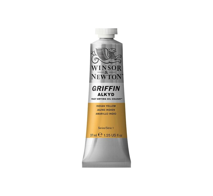 W&N Griffin Alkyd olieverf 37ml Indian Yellow 319