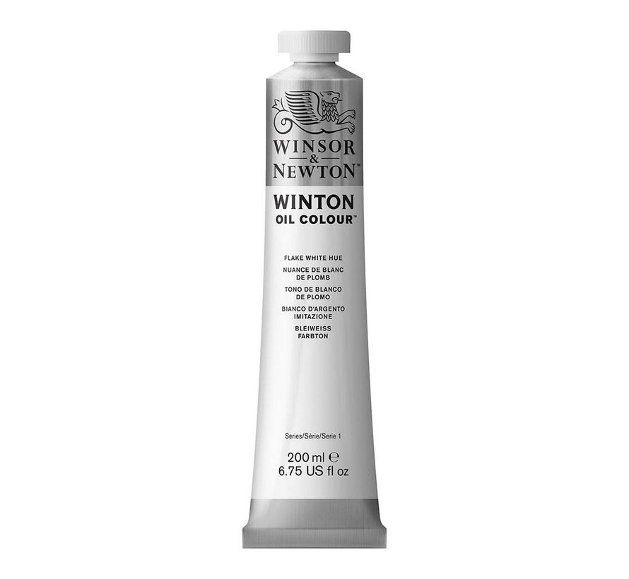 W&N Winton olieverf 200ml Flake White Hue 242