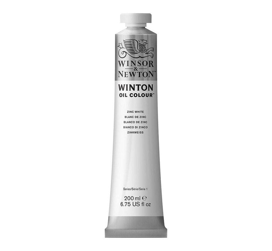W&N Winton olieverf 200ml Zinc White 748