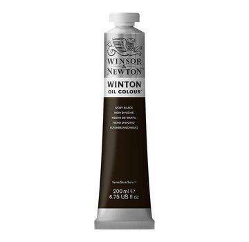 Winsor & Newton W&N Winton olieverf 200ml Ivory Black