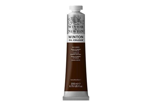 Winsor & Newton W&N Winton olieverf 200ml Raw Umber