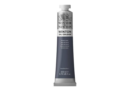 Winsor & Newton W&N Winton olieverf 200ml Payne's Grey