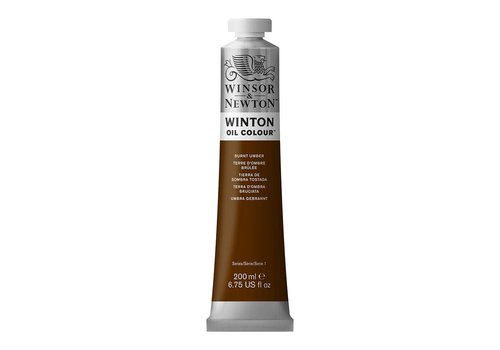 Winsor & Newton W&N Winton olieverf 200ml Burnt Umber
