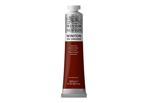 Winsor & Newton W&N Winton olieverf 200ml Indian Red