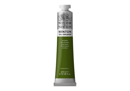 Winsor & Newton W&N Winton olieverf 200ml Sap Green