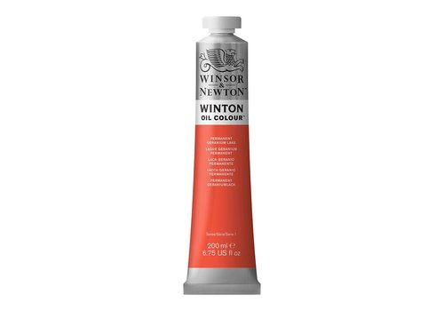 Winsor & Newton W&N Winton olieverf 200ml Permanent Geranium Lake