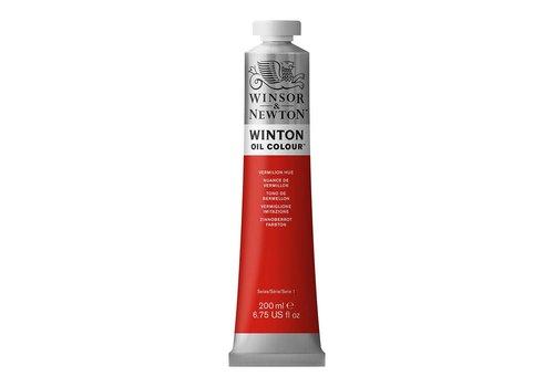 Winsor & Newton W&N Winton olieverf 200ml Vermilion Hue