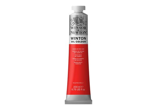 Winsor & Newton W&N Winton olieverf 200ml Cadmium Red Hue