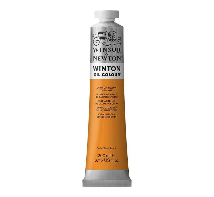 W&N Winton olieverf 200ml Cadmium Yellow Deep Hue 115
