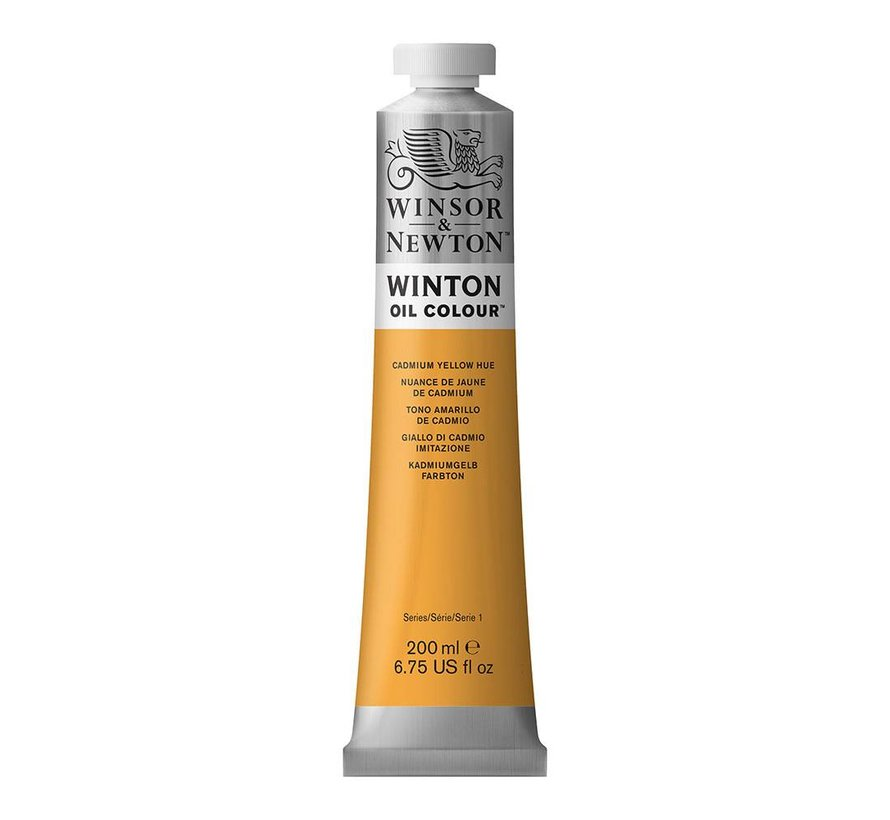 W&N Winton olieverf 200ml Cadmium Yellow Hue