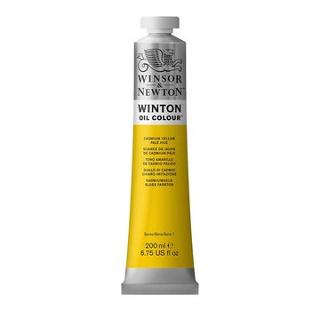 Winsor & Newton W&N Winton olieverf 200ml Cadmium Yellow Pale Hue