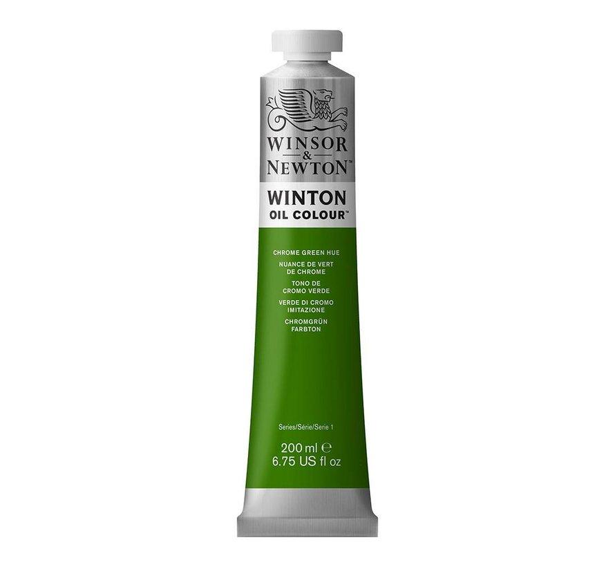 W&N Winton olieverf 200ml Chrome Green Hue 145