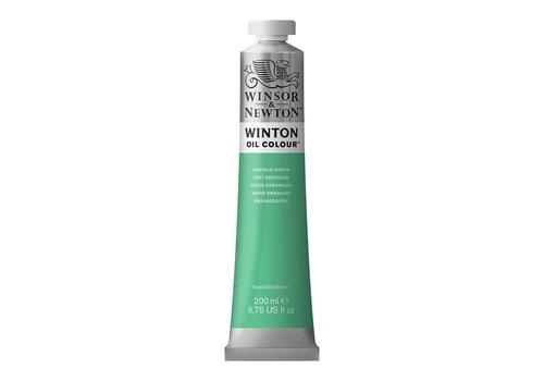 Winsor & Newton W&N Winton olieverf 200ml Emerald Green