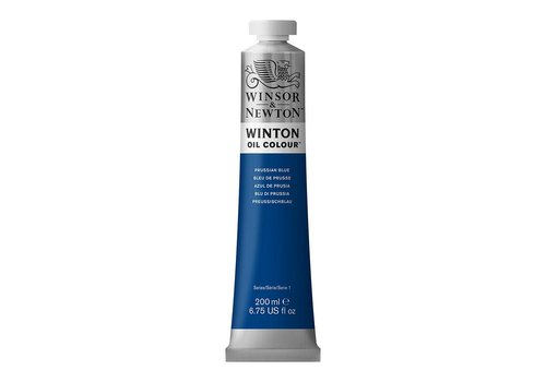 Winsor & Newton W&N Winton olieverf 200ml Prussian Blue