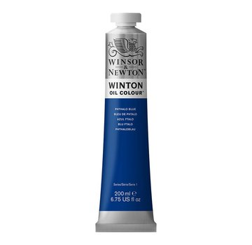 Winsor & Newton W&N Winton olieverf 200ml Phthalo Blue