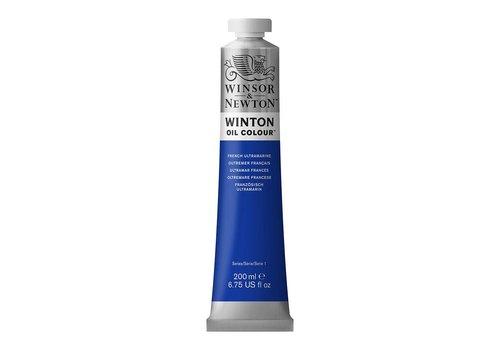Winsor & Newton W&N Winton olieverf 200ml French Ultramarine