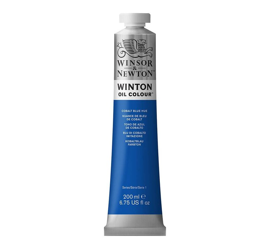 W&N Winton olieverf 200ml Cobalt Blue Hue