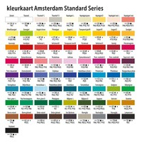 Amsterdam acrylverf 120ml standard 315 Pyrrolerood