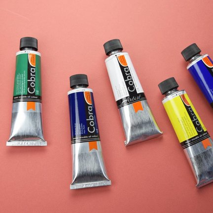 Cobra artist serie watervermengbare olieverf 150ml
