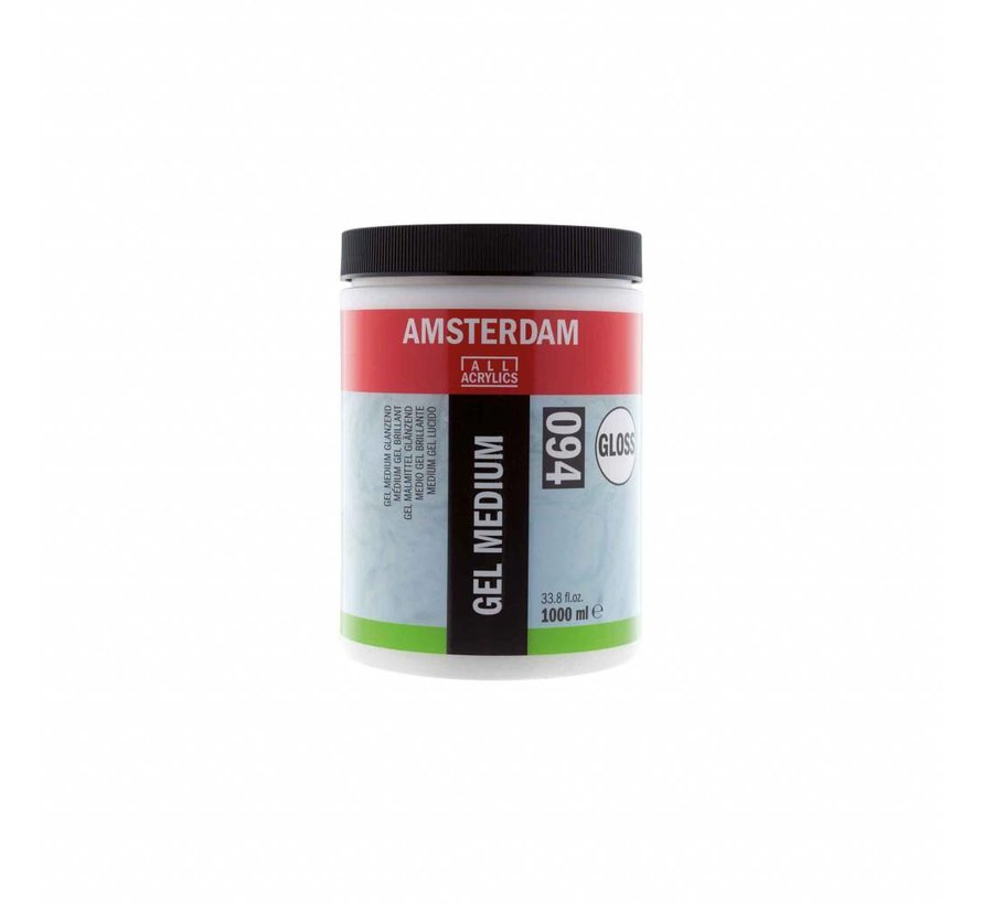 Amsterdam gel medium glanzend 1000 ml