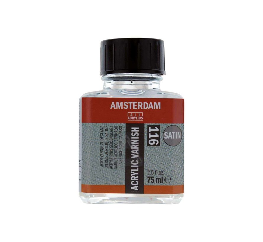 Amsterdam acrylvernis zijdeglans 75 ml