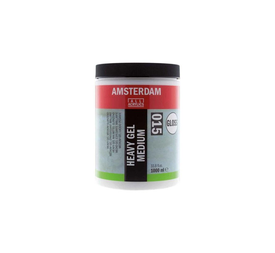 Amsterdam extra heavy gel medium glanzend 1000 ml