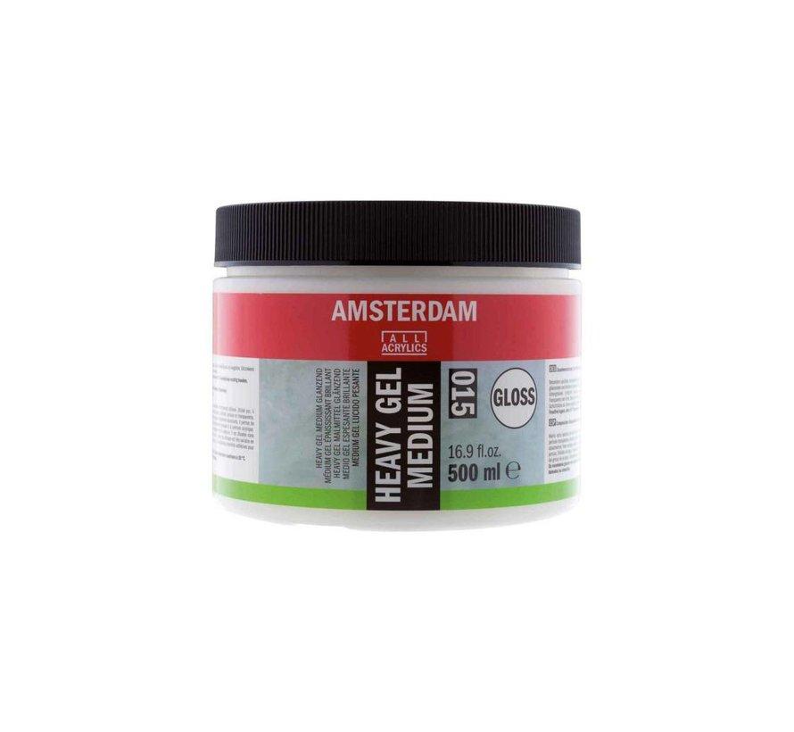 Amsterdam extra heavy gel medium glanzend 500 ml
