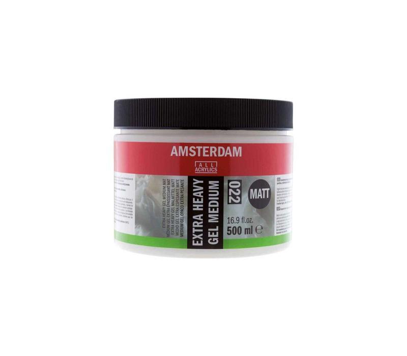 Amsterdam extra heavy gel medium mat 500 ml