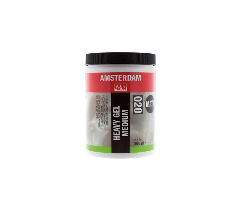 Amsterdam heavy gel medium mat 1000 ml