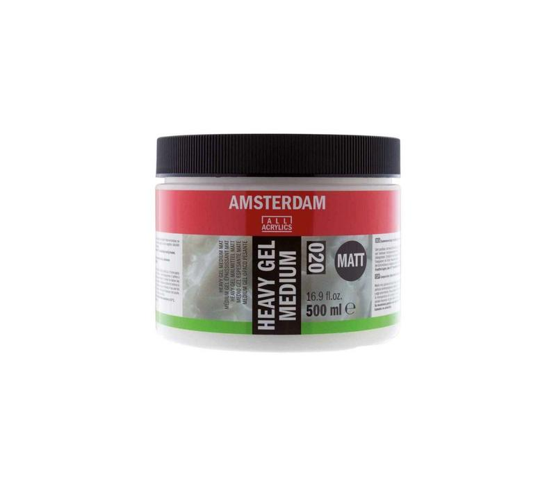 Amsterdam heavy gel medium mat 500 ml