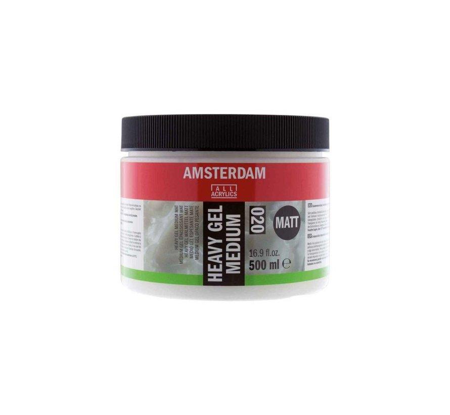 Amsterdam heavy gel medium mat 500 ml