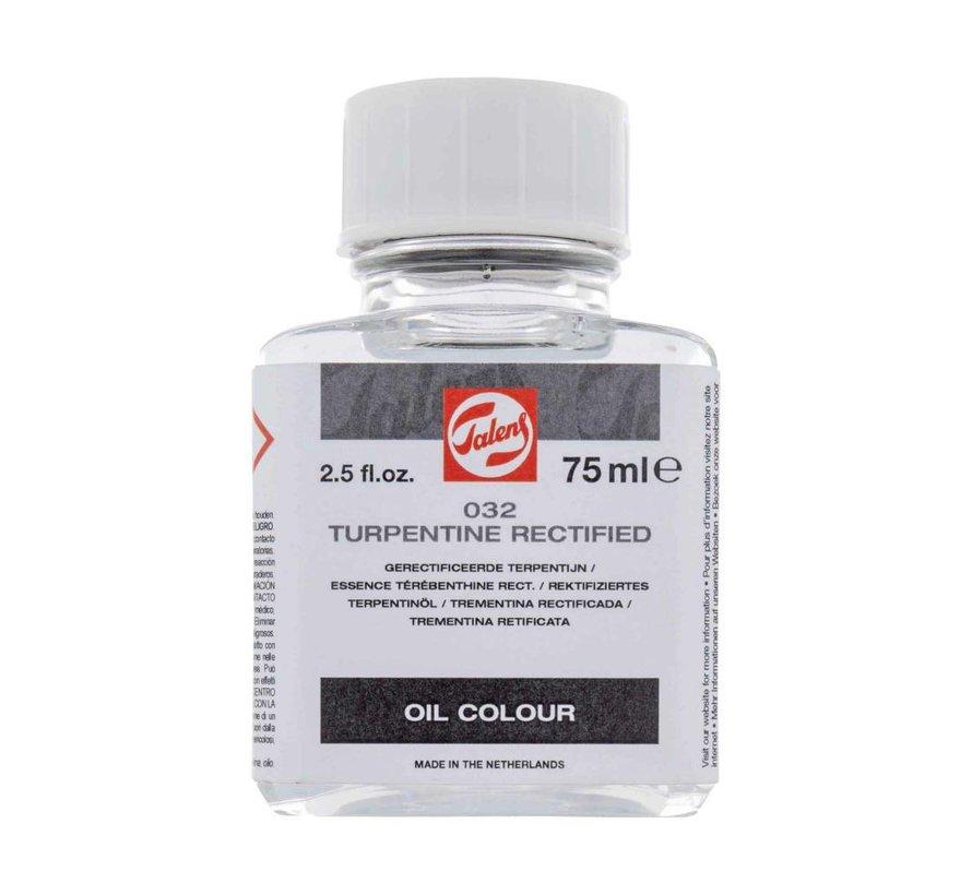 Gerectificeerd terpentijn flacon 75 ml