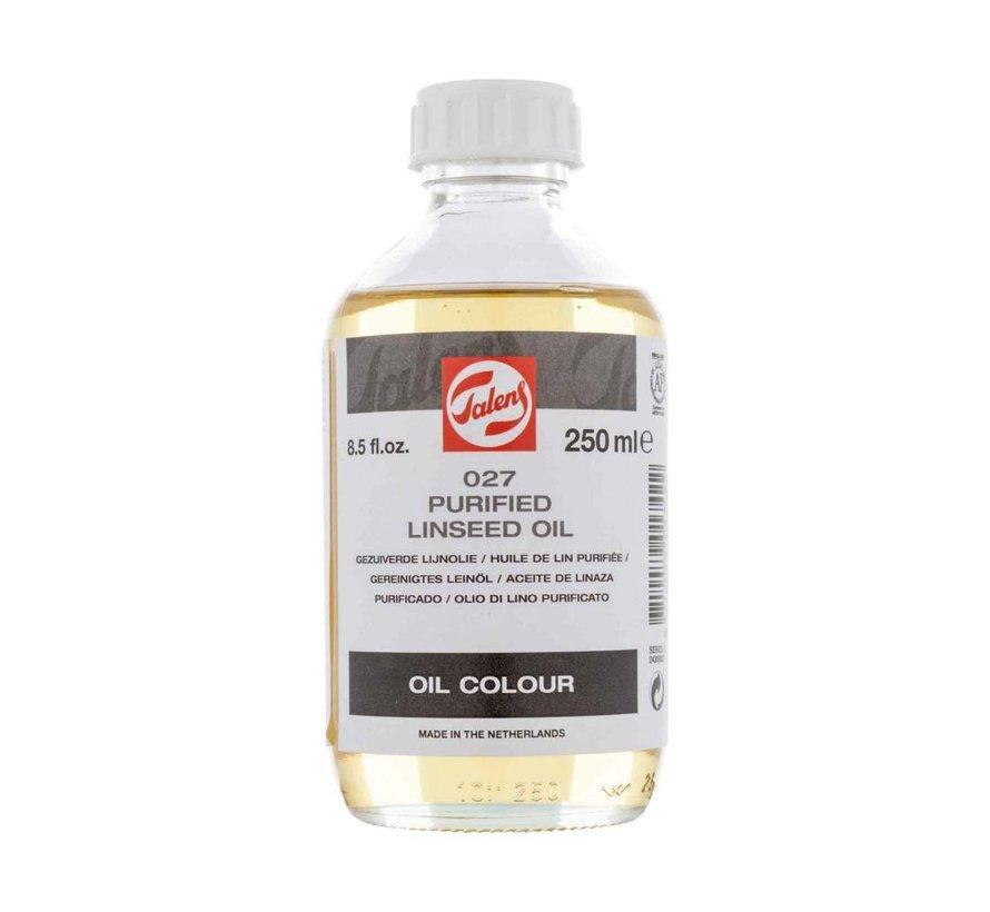 Gezuiverde lijnolie flacon 250 ml