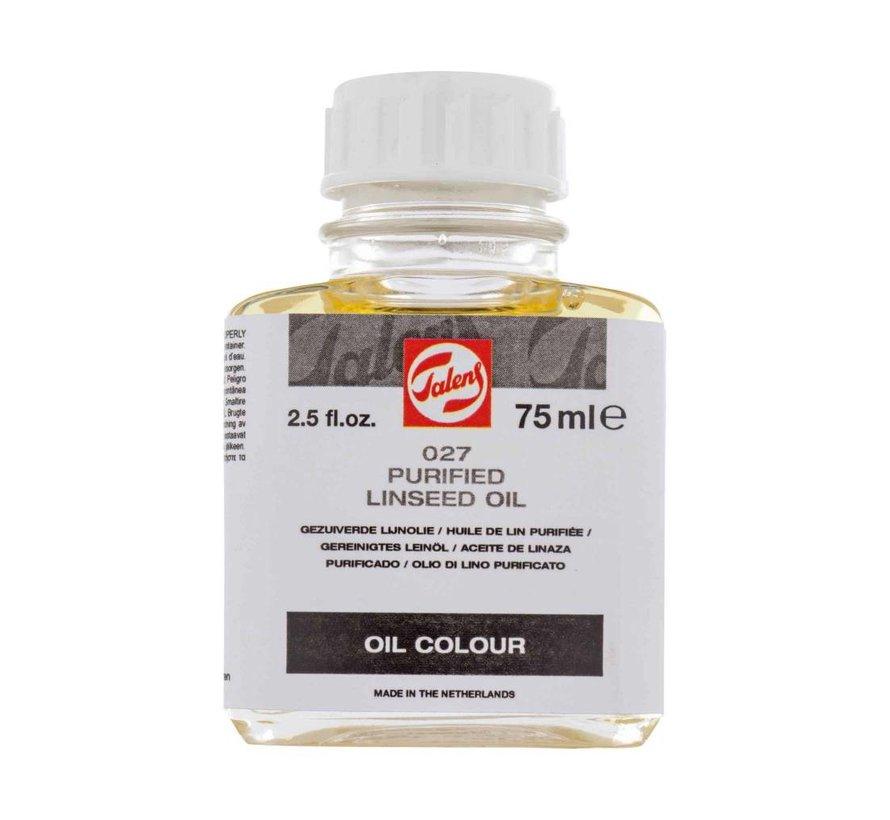 Gezuiverde lijnolie flacon 75 ml