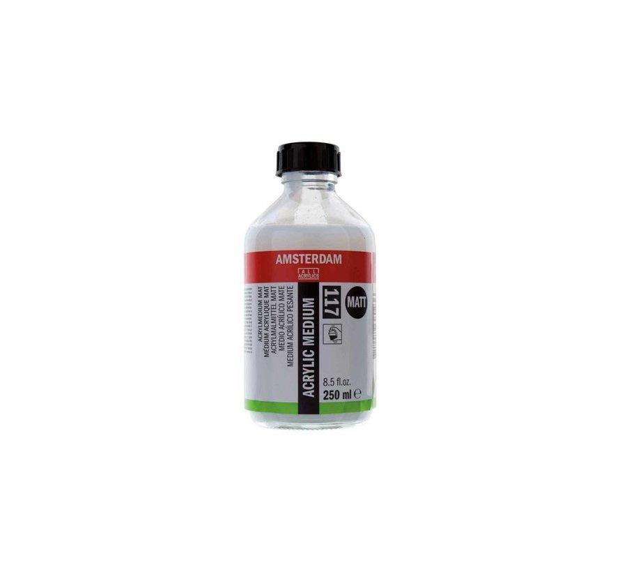 Amsterdam acrylmedium mat 250 ml