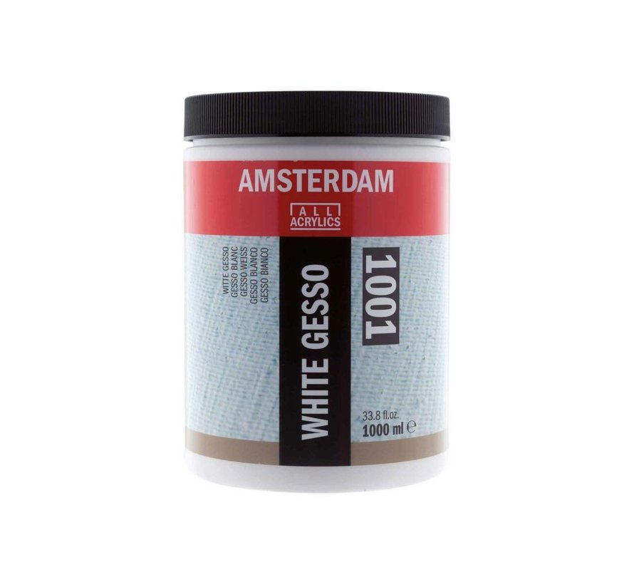 Amsterdam gesso wit 1000 ml