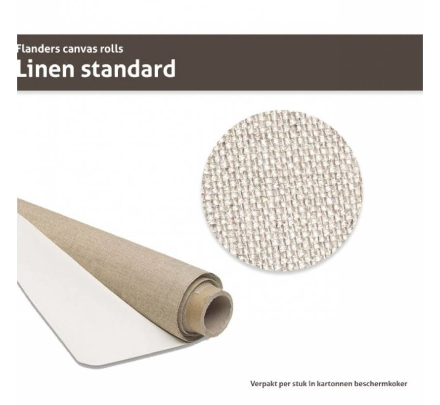 Flanders Linnen op rol Standaard 210CM x 10M