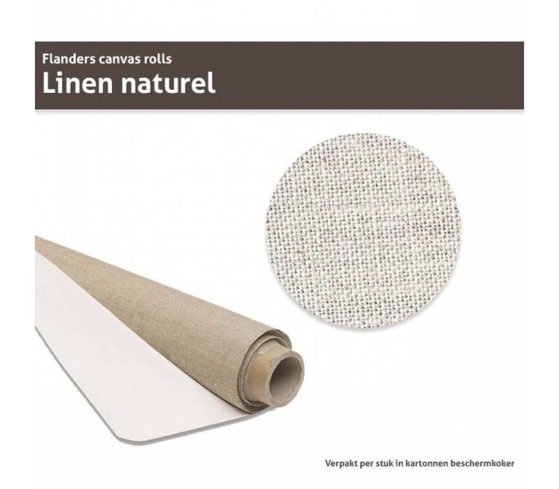 Flanders Linnen op rol Naturel 210CM x 10M