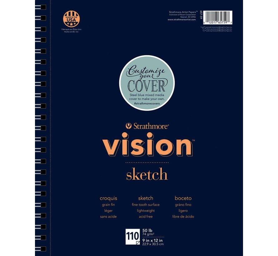 200 serie Vision Schets 23x30,5cm