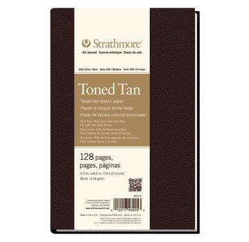 Strathmore Toned Tan Schets 14x21,6cm Art Journal